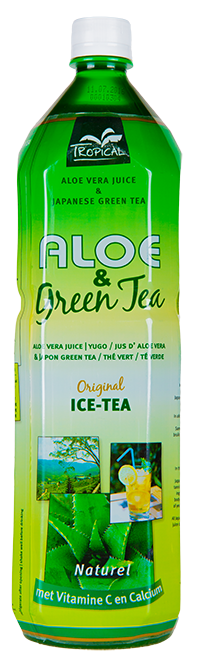 Tropical Aloe Vera & Green Tea 1500 ml - Duża butelka