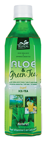 Tropical Aloe Vera & Green Tea 500 ml
