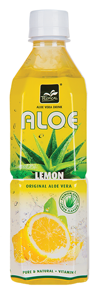 Tropical Lemon Aloe Vera 500 ml - Cytryna