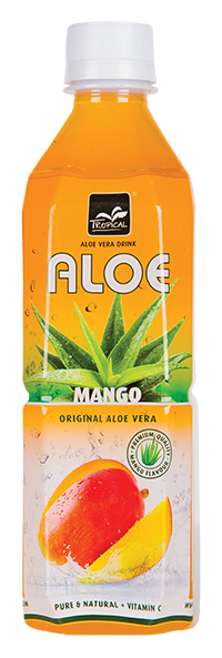 Tropical Mango Aloe Vera 500 ml - Mango