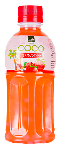 Tropical Nata de coco Strawberry 320 ml - Truskawka