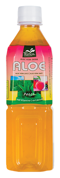 Tropical Peach Aloe Vera 500 ml - Brzoskwinia