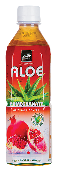 Tropical Pomegranate Aloe Vera 500 ml - Granat