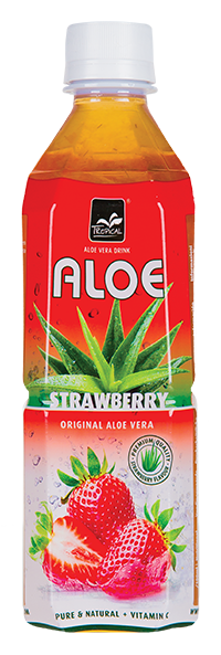Tropical Strawberry Aloe Vera 500 ml - Truskawka